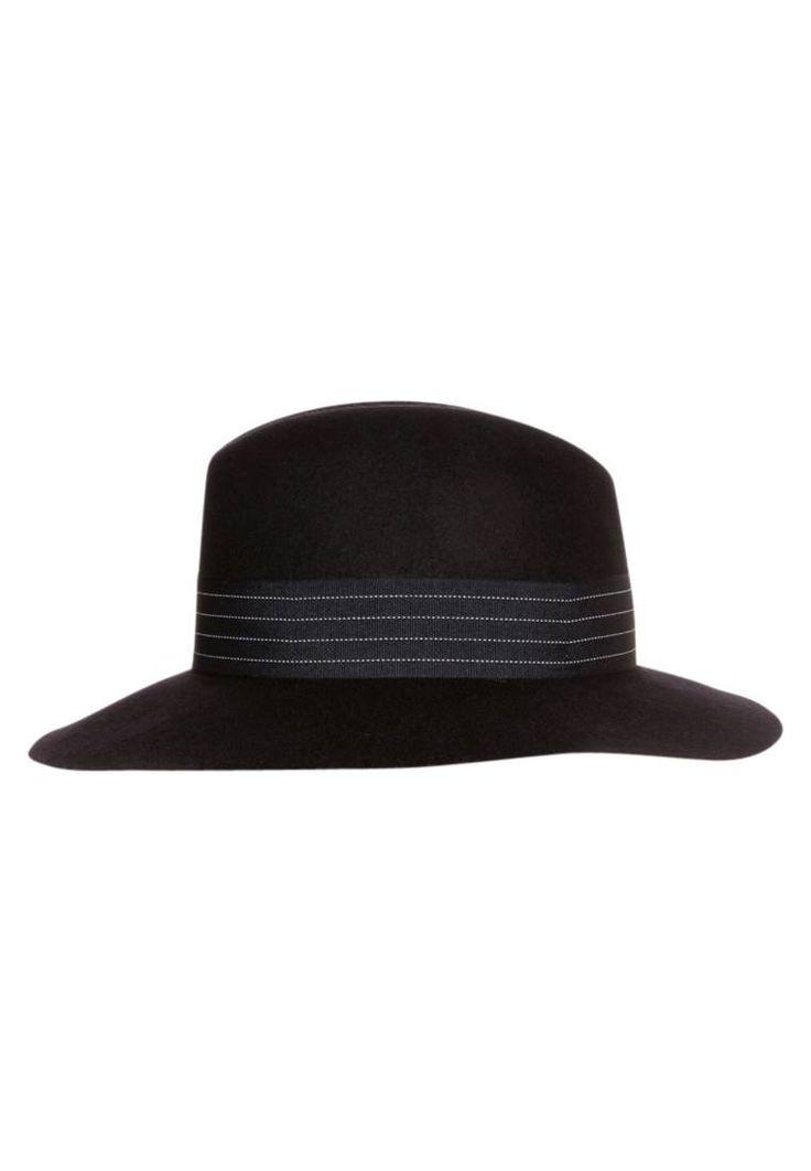 Tiger of Sweden. GIULINA  - Cappello - navy. #panama #cappelli #cappelliestivi #zalando #fashion Avvertenze:non lavare. Composizione:100% Lana