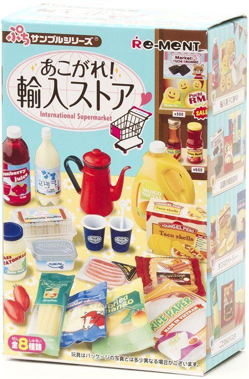 Petit International Supermarket Re-Ment miniature blind box