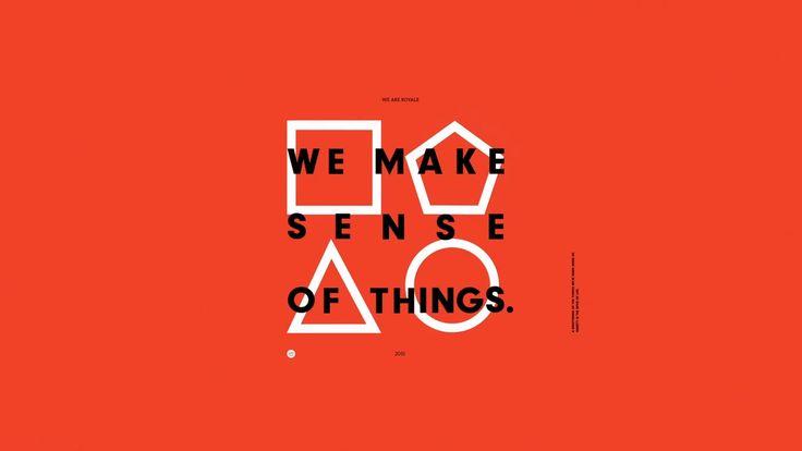 We Are Royale – Manifesto