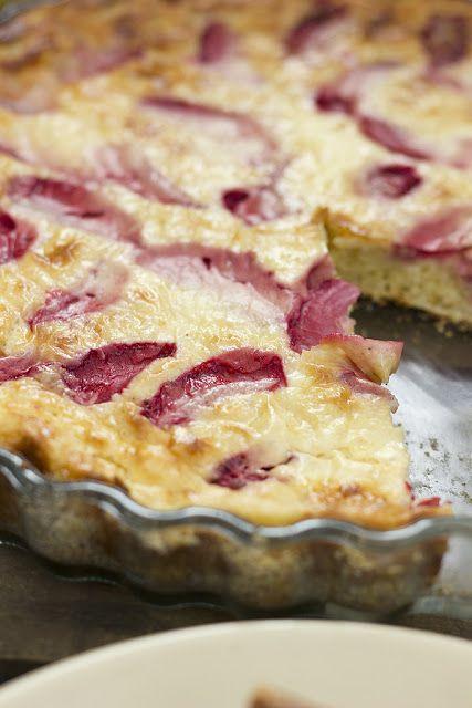 Gyümölcsös túrós pite liszt nélkül