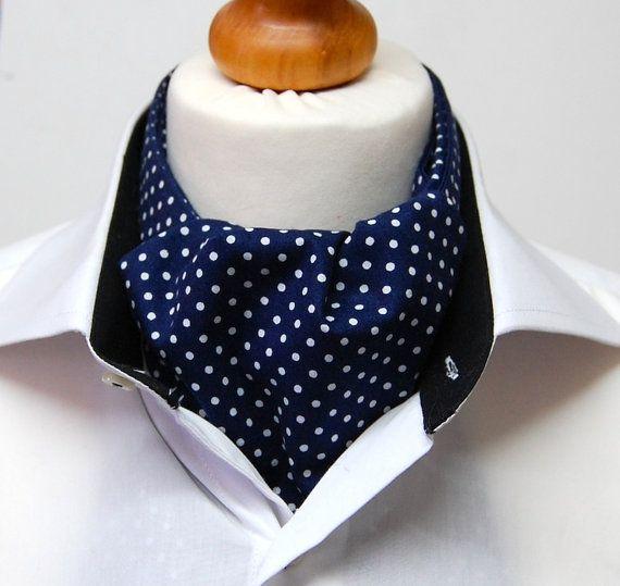 Dick Beau Marvellous Polka Cravat on Etsy, £20.00