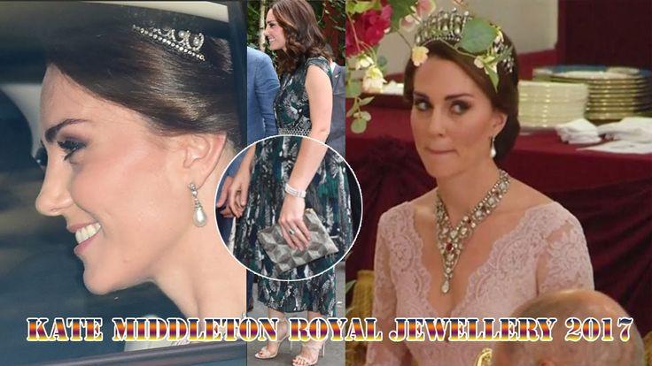 Kate Middleton's Best Royal Jewellery in 2017 - SHOWBIZ GOSSIP