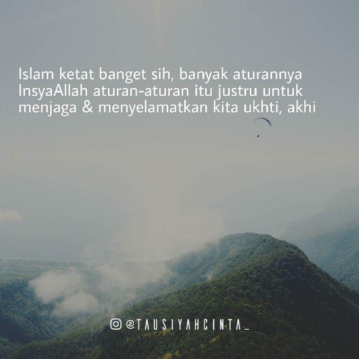 Islam ketat banget sih banyak aturannya || InsyaAllah aturan2 itu justru untuk menjaga & menyelamatkan kita ukhti akhi Follow @hijrahcinta_ Follow @hijrahcinta_ Follow @hijrahcinta_ http://ift.tt/2f12zSN