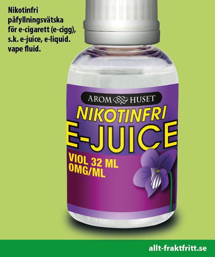 Nikotinfri E-juice Viol 32ML