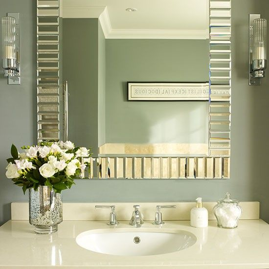 Bathroom mirror and vanity unit   Small bathroom ideas   Bathroom   PHOTO  GALLERY   HousetohomeBest 25  Small bathroom mirrors ideas on Pinterest   Bathroom  . Small Bathroom Mirrors. Home Design Ideas
