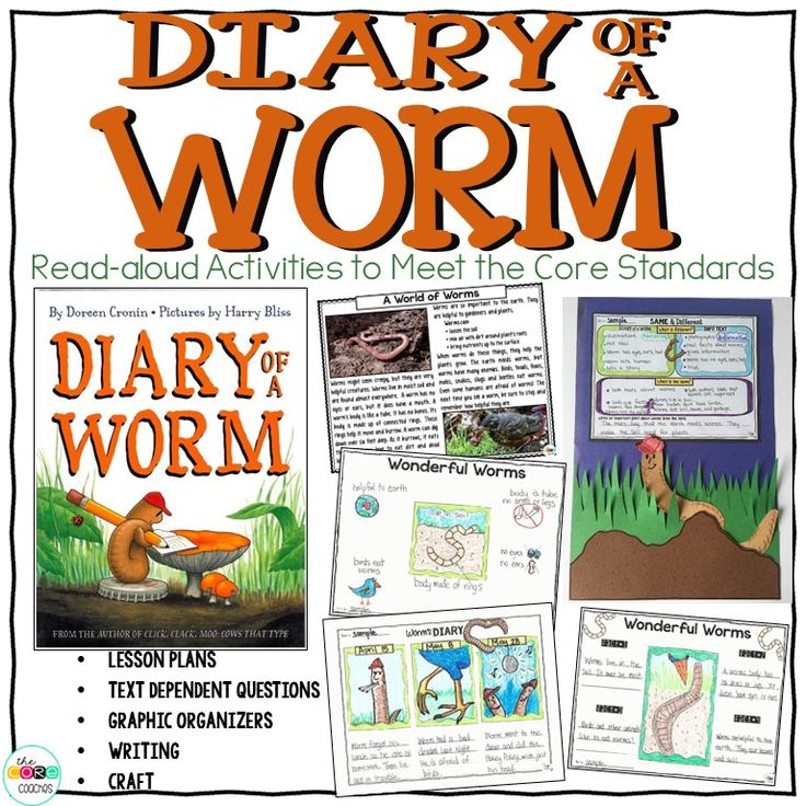 Diary Of A Worm: 17 Best Images About Read-Alouds On Pinterest