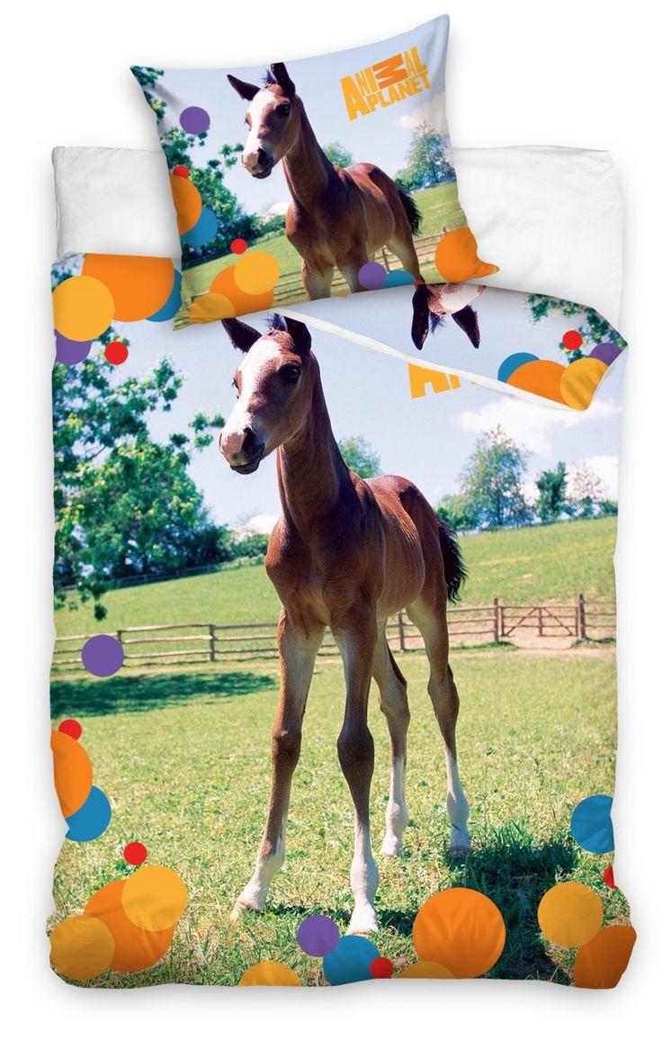 Dětské povlečení se vzorem koníka