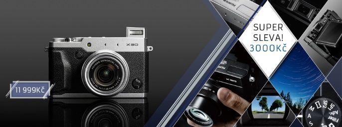 AKCE: FOTOAPARÁTY FUJI X30 ZA JEDINEČNOU CENU|Fujifilm Česko