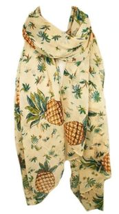 Maui #multiwaysscarf #scarf #sarong #coverup #pineapple #craveworthy #ootd #beachwear #theessentials #resortwear #poolside #newarrival #ss2015 #musthave #shoponline