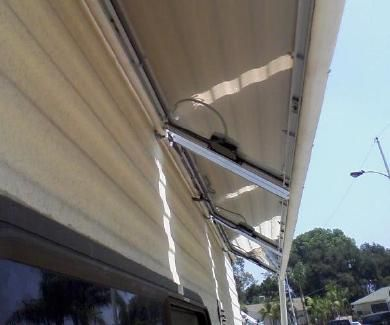 Solar power on an RV (Recreational Vehicle) or motorhome