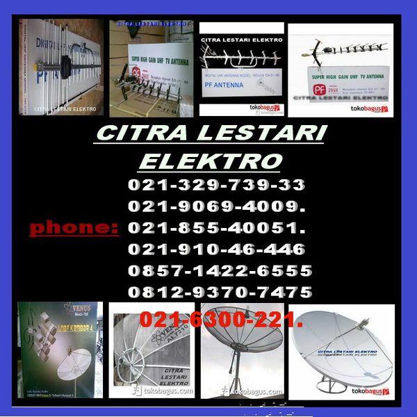 ahli pasang antena tv lokal dan parabola 4 satelite pixed