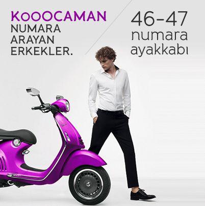 Kooocaman Numara Arayan Erkekler. - http://www.depodyum.com/viodin-erkek-ayakkabi-modelleri - Bir Podyum Havası.