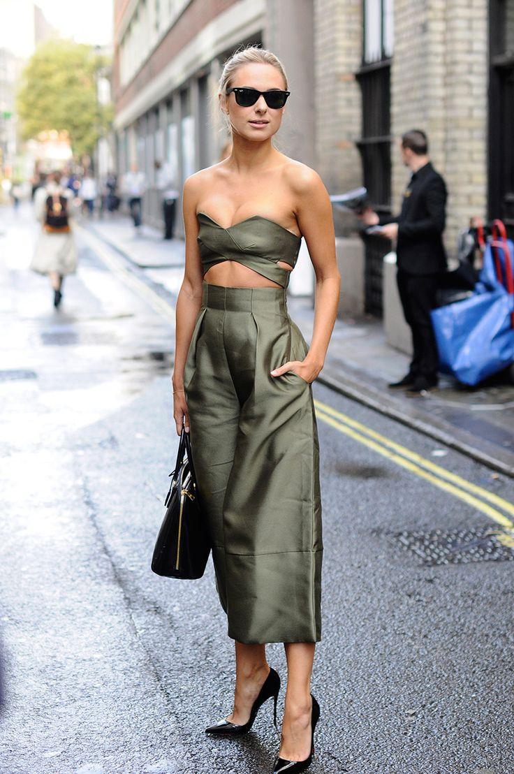 Los mejores looks de Fashion Week en  las calles.