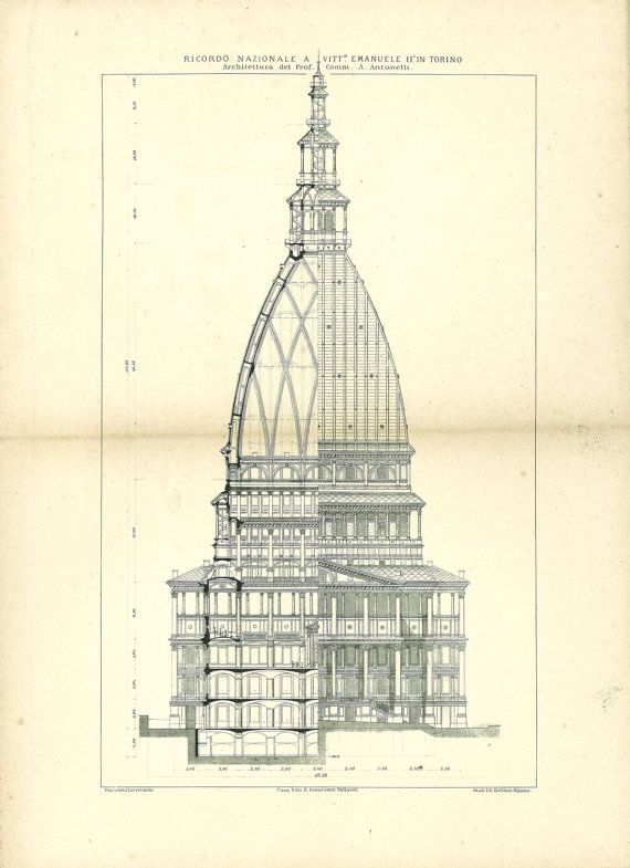 17 best images about vintage architectural prints on for Full size architectural drawings