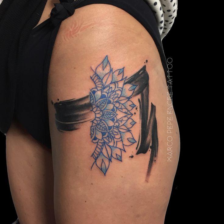 Encre Tattoo di Marco Pepe, è uno studio a Napoli specializzato in tatuaggio tradizionale, neo traditional, e watercolor tattoo.