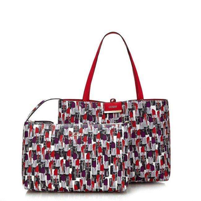 Guess Bobbi shopping bag LV6422150 - #guess #bags #handbags #fashion #glamour #borse #women #donne #donna #moda #stile