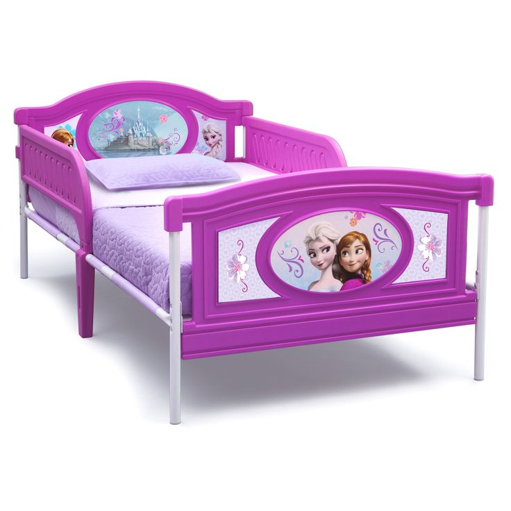Delta Children Frozen Twin Bed (Multi), Purple