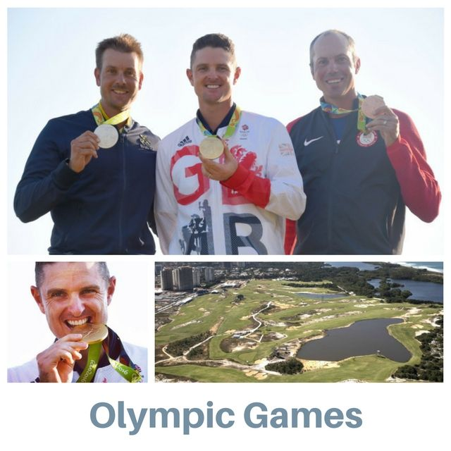 Congratulations to Justin Rose on winning the gold medal in the 2016 Olympic Games. Also congratulations to Henrik Stenson on winning the silver medal and Matt Kuchar on winning the bronze.