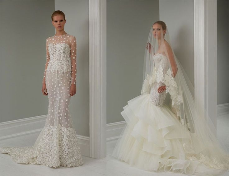 Steven Khalil Bridal 2015 Collection : http://www.itakeyou.co.uk/wedding/steven-khalil-bridal-2015-collection/ #weddingdress: