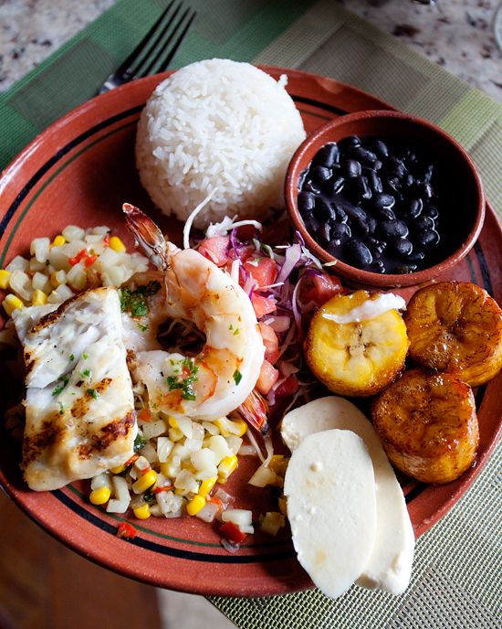 Essence of the local cuisine. #Costa Rica