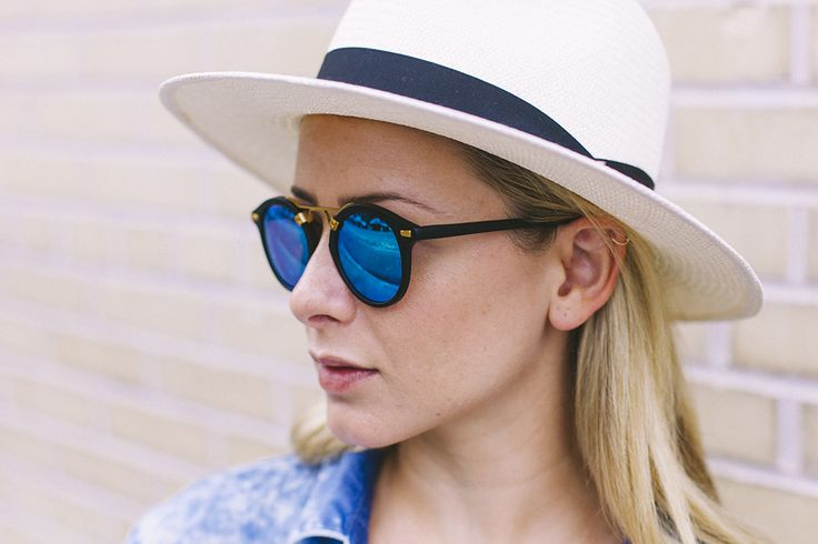 Obsessed with these sunnies & my fave Rag & Bone fedora: http://bit.ly/1PNBkmr