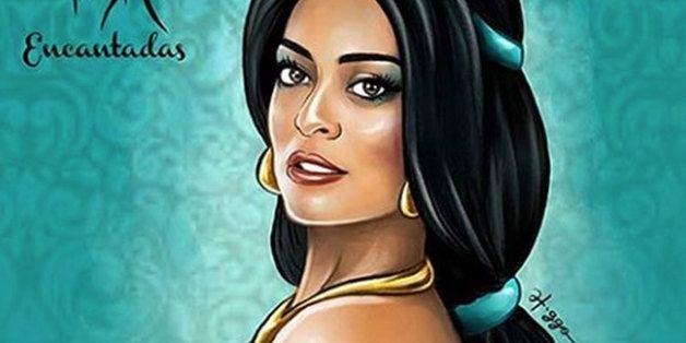 Veja como seriam as princesas da Disney se elas fossem atrizes brasileiras