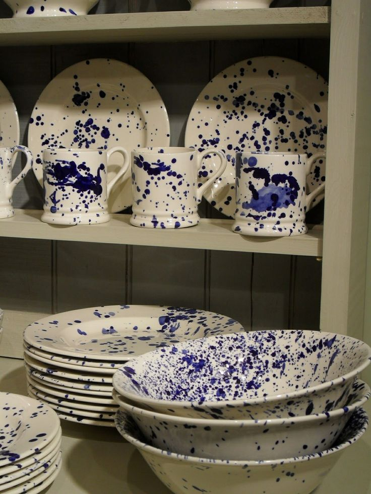Emma Bridgewater Blue Splatter http://www.emmabridgewater.co.uk/icat/bluesplatter