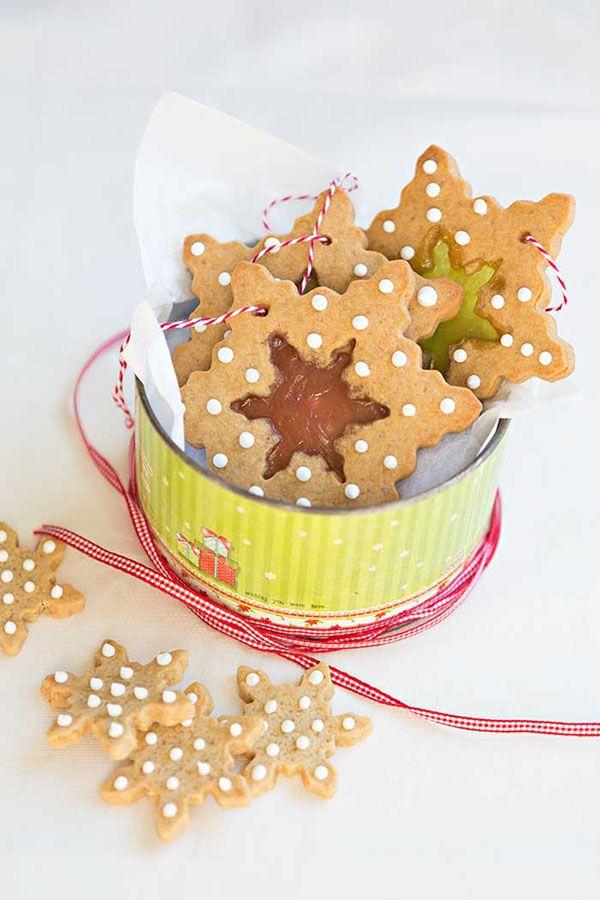 Galletas para decorar el árbol de Navidad
