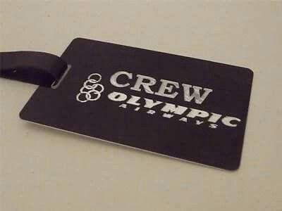 Olympic airways crew Tag