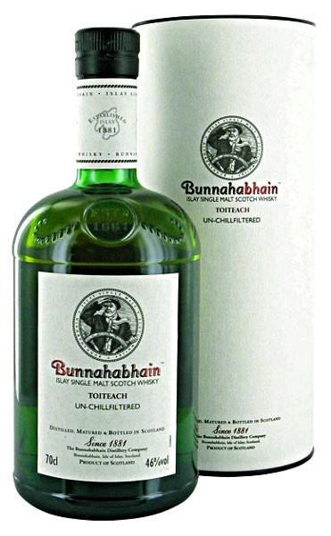 Bunnahabhain Toiteach Scotch whiskey