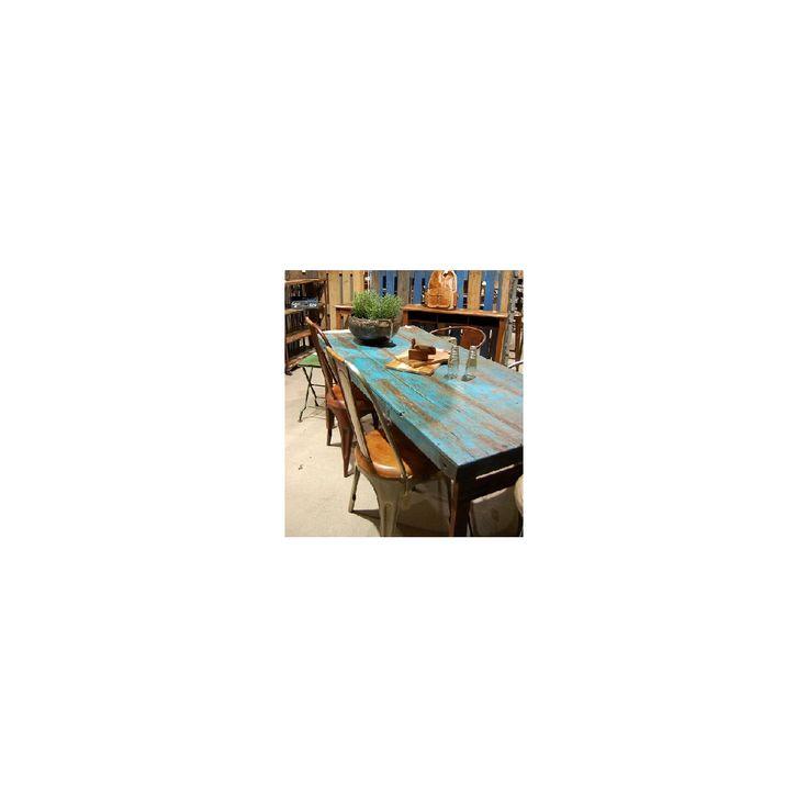 Spisebord i gjenbrukstre - Trademark møbler, gjenbruk - Solstrand Interiør