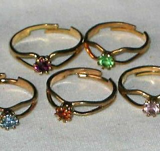 #The70s - \We all had birthstone rings. I got mine on Christmas 1979.