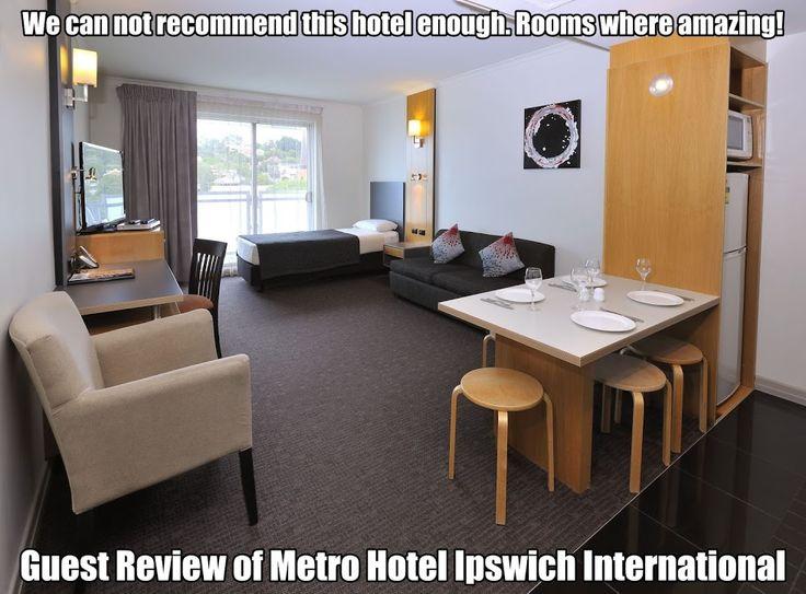 Testimonials - Metro Hotel Ipswich International