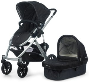 Uppa Baby Vista - the is the BEST stroller ever, fly with it every month and take it to the store during the week - super versatile