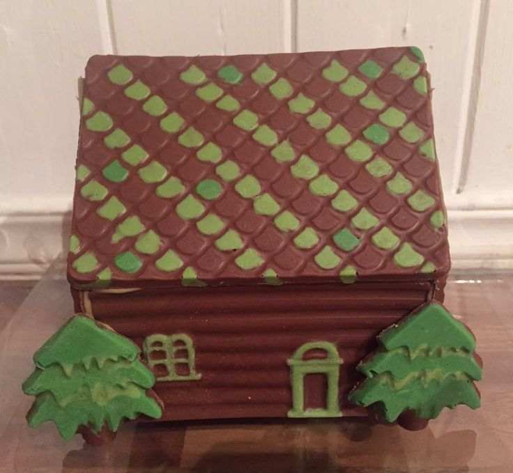 Having a chocolate house this year instead of ginger bread!!  Check out Ashleigh's chocolate delights on Facebook x