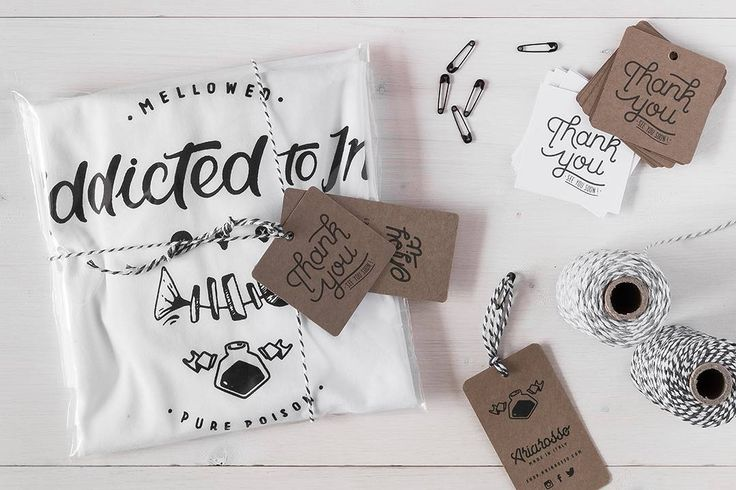 'Addicted to Ink' Tshirt Pakaging. Available at http://shop.ariarosso.com/graphic-t-shirts-shop/mens-graphic-tee-white-organic-cotton-printed-addicted-to-ink #tee #tshirt #white #graphic #printed #teeshirt