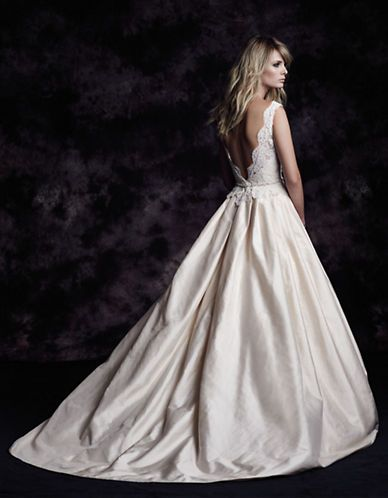 Brands | Wedding Gowns | Silk Dupioni A-Line Gown | Hudson's Bay