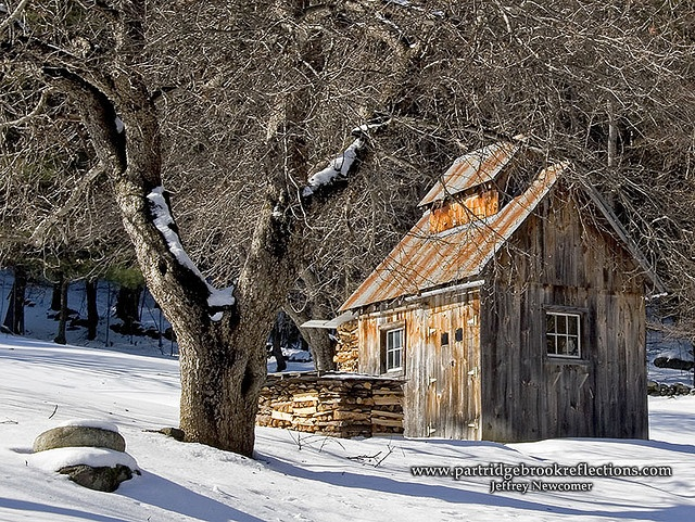 Winter Sugar Shack by Jeff Newcomer, via Flickr