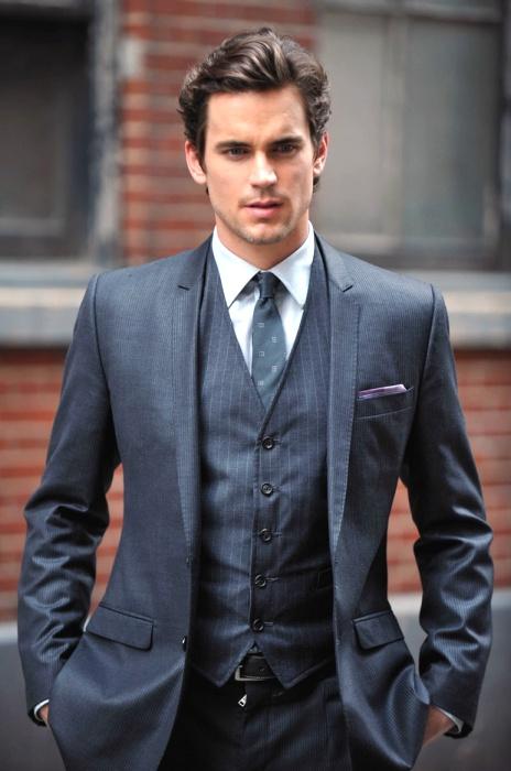 matt bomer - nobody in the universe wears a suit better.