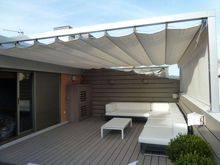 1000 ideias sobre pergolas de aluminio no pinterest - Pergolas para aticos ...