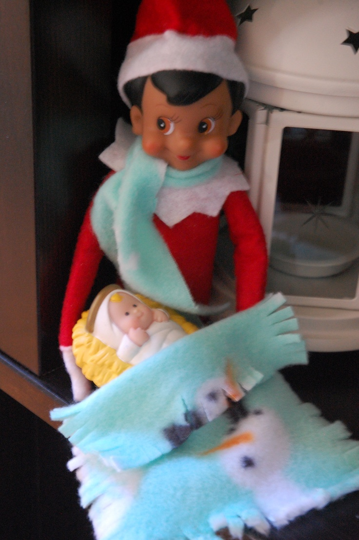104 best images about Elf on the Shelf- Jesus Style! on Pinterest