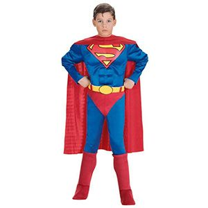 Superman Çocuk Kostüm 8-10 Yaş, erkek doğum günü kostümleri