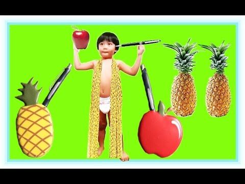 PPAP CUTE BABY VERSION FUNNY BABY SING AND DANCE PINEAPPLE APPLE PEN