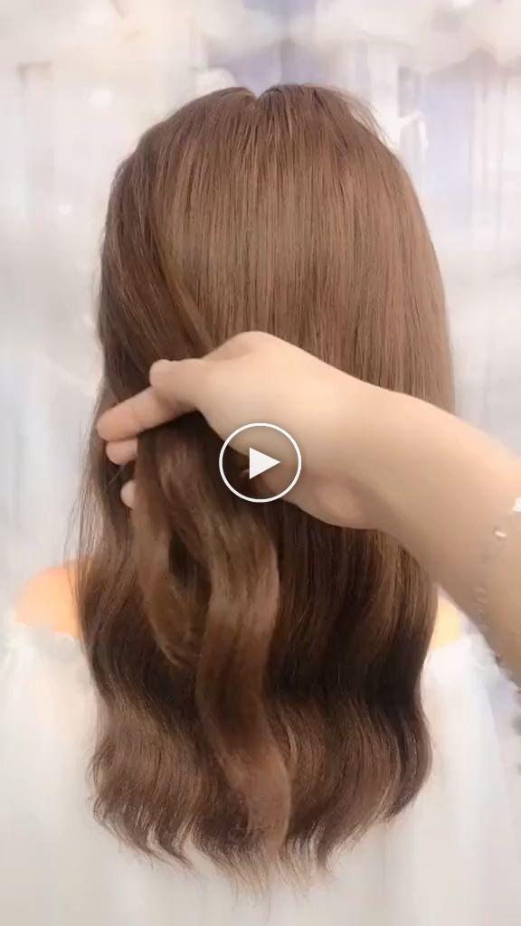 17+ Video coiffure facile cheveux long idees en 2021