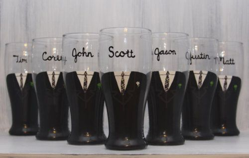 Presents for the men in the bridal party