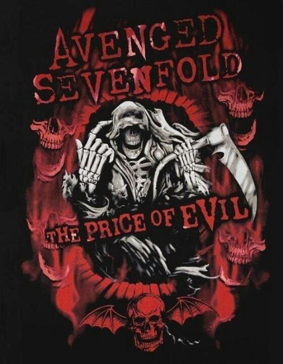 Avenged Sevenfold Nightmare music Pinterest