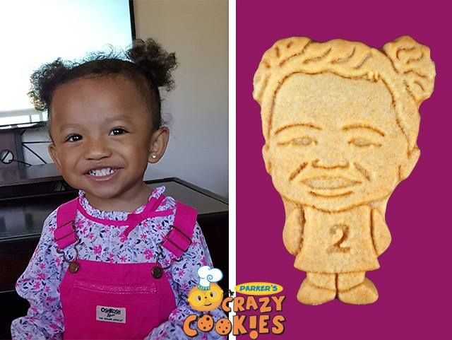 For a second birthday treat that can't be beat, contact Parker's Crazy Cookies. Just go to our website and download a photo...and the magic begins!
