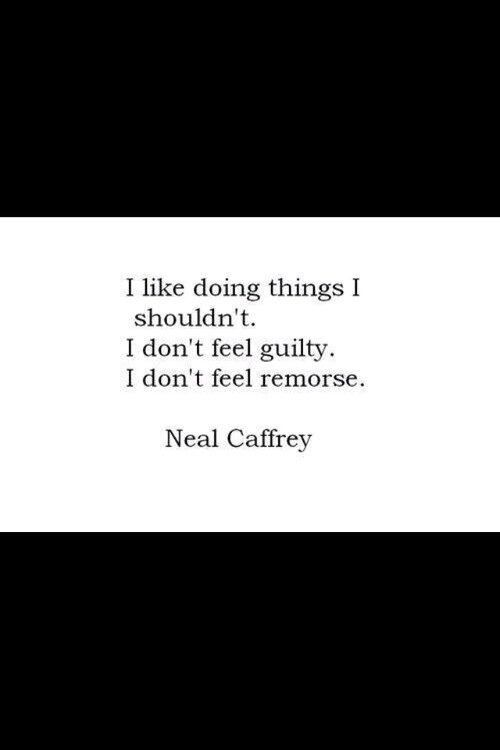 Neal Caffrey Quote