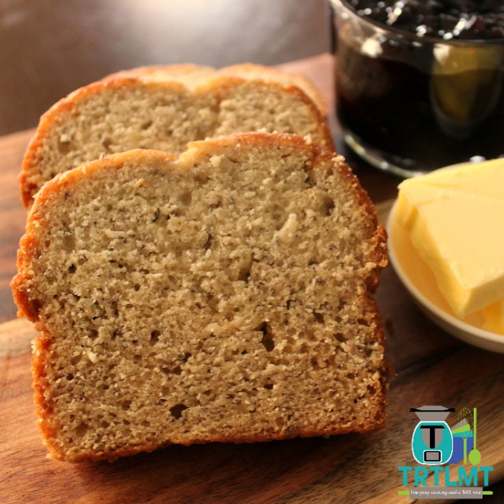 30 Second Banana Bread – The Road to Loving My Thermo Mixer - omit sugar & add a splash of milk