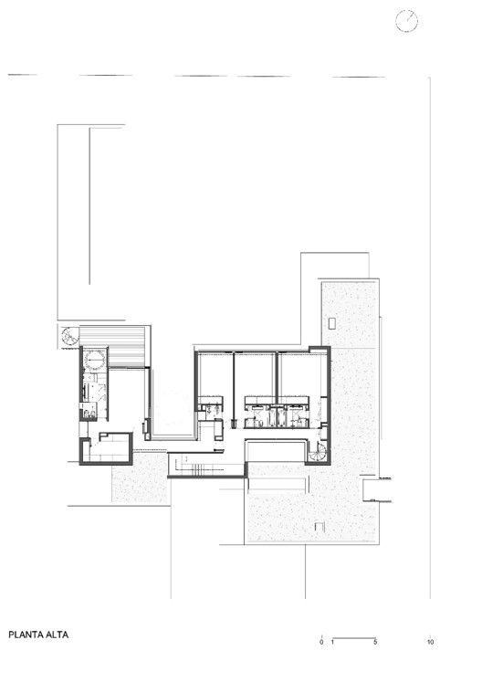 Casa BR,Planta Segundo Nivel